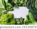 Green salads and cabbage 29156879
