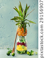 Fruit salad in mason jar 29156907