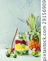 Fruit salad in mason jar 29156909