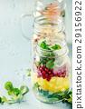 Salads in mason jars 29156922