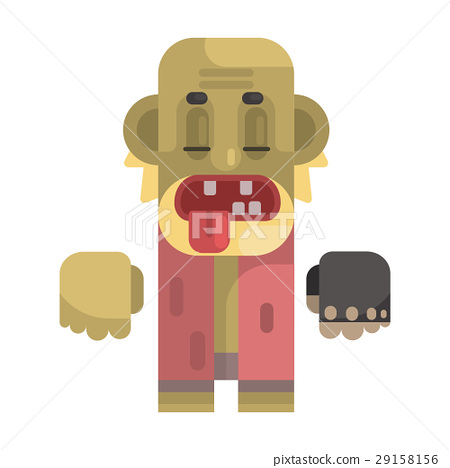 Old Toothless Tramp With Blond Beard, Revolting 29158156
