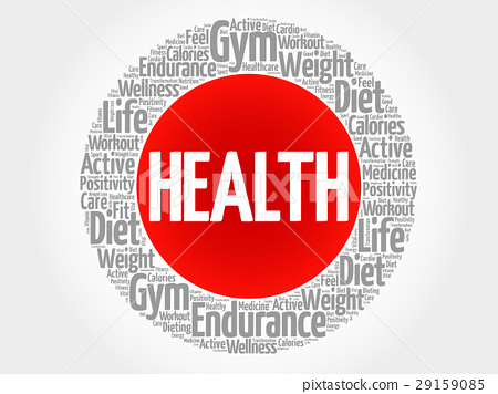 HEALTH word cloud collage 29159085