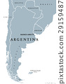 Argentina political map 29159487