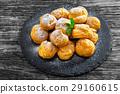 Delicious profiteroles 29160615