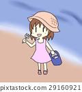 贝类收集 海洋 海 29160921