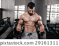 abdominal, dumbbell, gym 29161311
