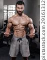 臂 二头肌 健身房 29161312
