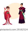 艺妓 日本武士 日本人 29162524