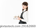 coffee, salesperson, shop 29162660