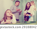 family, four, home 29168042