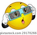 Smiley Eclipse Sun Glass 29170266