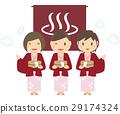 yukata hot spring 29174324