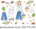 여름, 패션, 복장 29175195