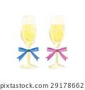 champagne flute, champagne, sparkling wine 29178662