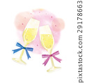 champagne flute, champagne, sparkling wine 29178663