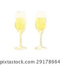 champagne flute, champagne, sparkling wine 29178664