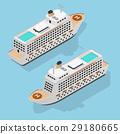 cruise, liner, isometric 29180665