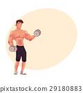 健美運動者 向量 向量圖 29180883