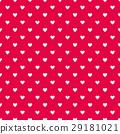 Seamless hearts pattern 29181021