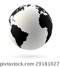 Earth globe symbol 29181027