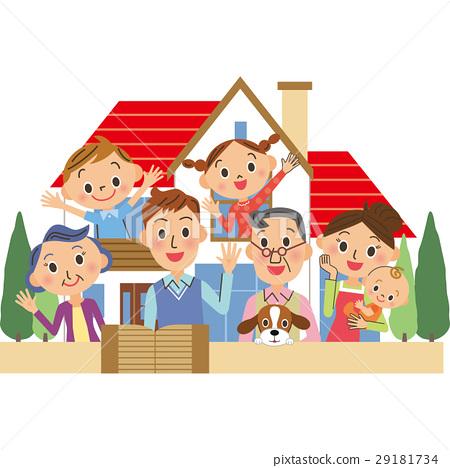 세 가족과 집 29181734