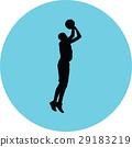 basketball player 29183219