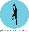 basketball player 29183222