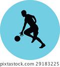 籃球 球 人影 29183225