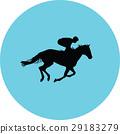 horse jockey equestrian 29183279