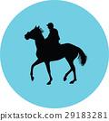 horse jockey equestrian 29183281