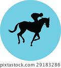 horse, jockey, equestrian 29183286