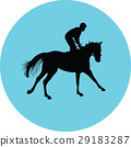horse jockey equestrian 29183287