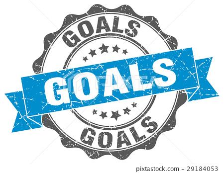 goals stamp. sign. seal 29184053