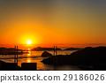 女神大桥 日落 夕阳 29186026
