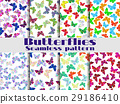 pattern, seamless, vector 29186410