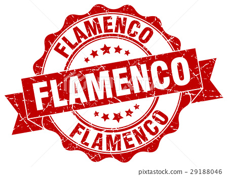flamenco stamp. sign. seal 29188046