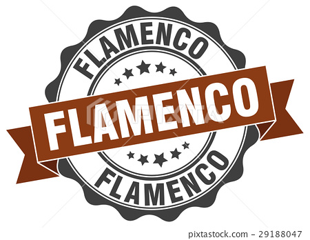 flamenco stamp. sign. seal 29188047