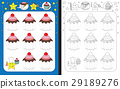 Preschool worksheet 29189276