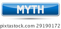MYTH - Abstract beautiful button with text. 29190172