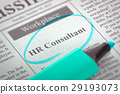 HR Consultant Hiring Now. 3d. 29193073
