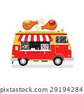 Street fast food truck 29194284