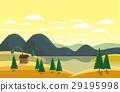 Autumn mountain landscape 29195998