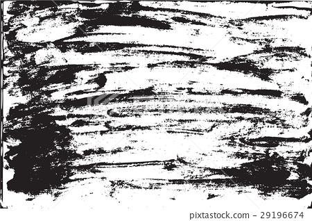 Grunge background brush strokes of black paint 29196674