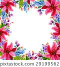 color flower watercolor 29199562