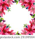 color flower watercolor 29199564