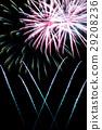 Fireworks in the night sky 29208236