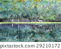 mishaka pond, aquarelle, watercolor 29210172