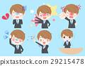 cartoon business man 29215478