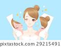 asian cartoon face 29215491