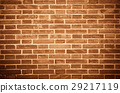 Red brick wall texture 29217119